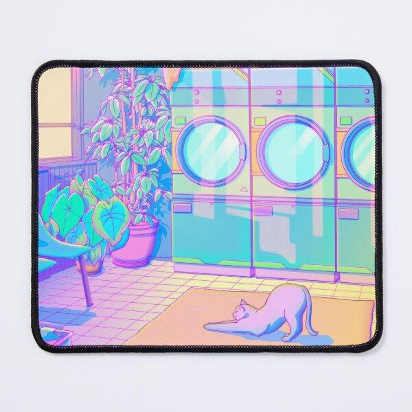 Laundry Blues Mouse Pad