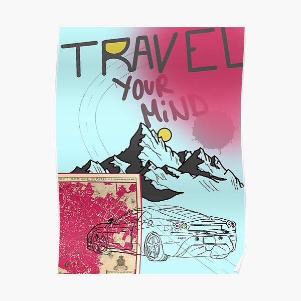 travel your mind Poster