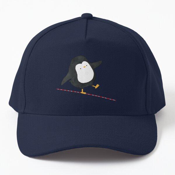 Equilibrist Penguin Baseball Cap