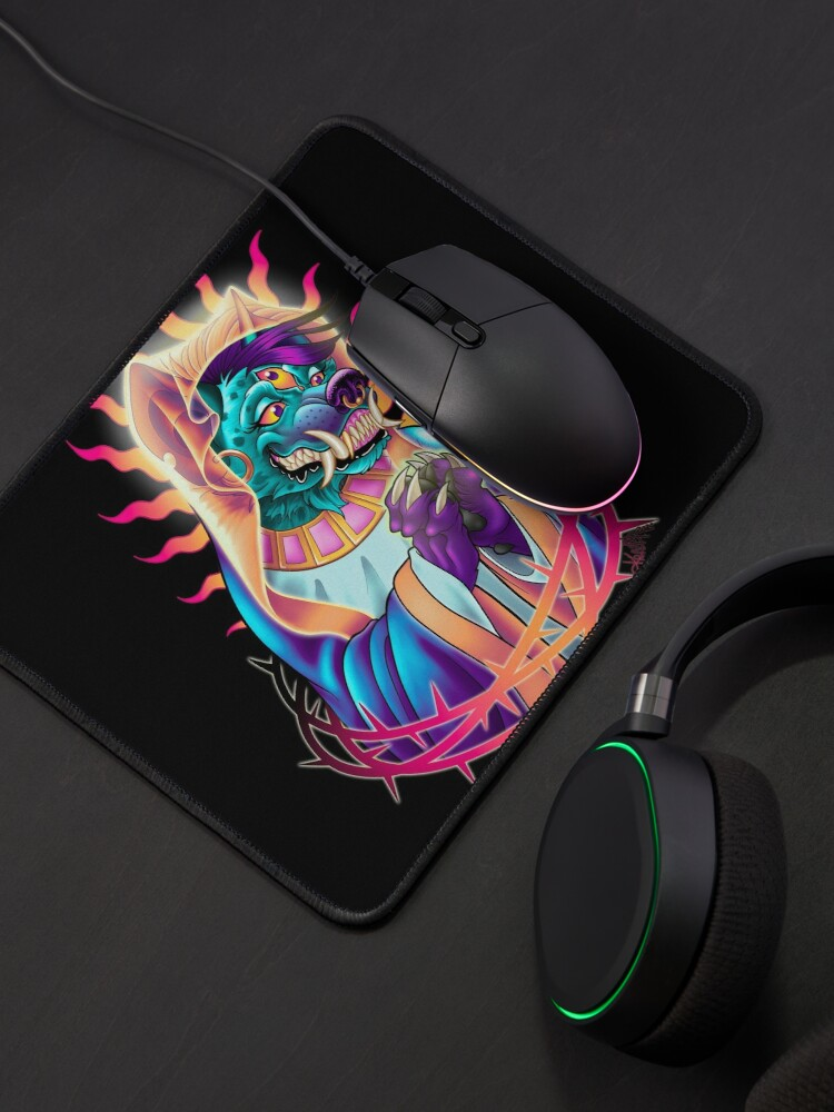 Alternate view of Holy Hyena Mouse Pad