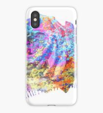 Rose Colorful Brush iPhone Case