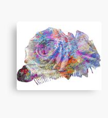 Rose Colorful Brush Canvas Print