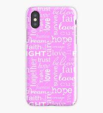 Breast Cancer iPhone Case/Skin