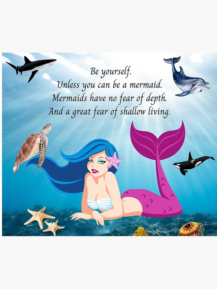 Be a Mermaid by kgerstorff