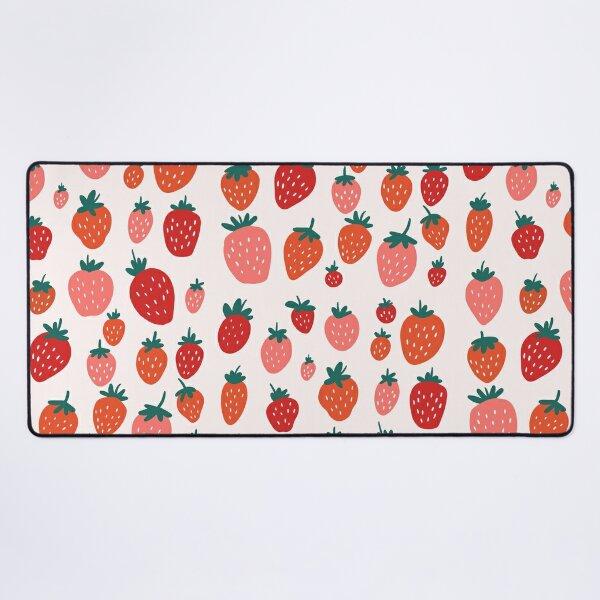 Strawberry Lover Desk Mat
