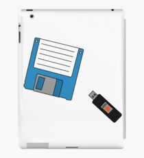 Floppy Disk and Thumb Drive iPad Case/Skin