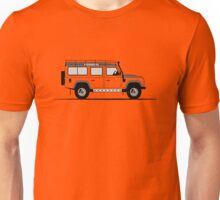 A Graphical Interpretation of the Defender 110 Station Wagon Adventure Edition Unisex T-Shirt