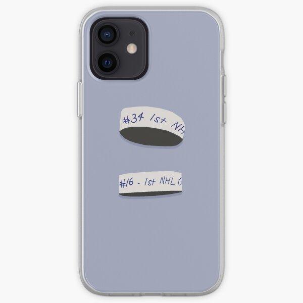 1er Objectifs - Mitch Marner et Auston Matthews Coque souple iPhone