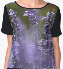 Lavender Delight Women's Chiffon Top