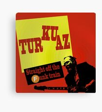 Turkuaz - James Brown Tribute Canvas Print