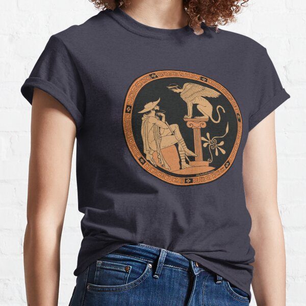 Oedipus and the Sphinx Classic T-Shirt