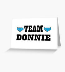 Orphan Black - Team Donnie Greeting Card