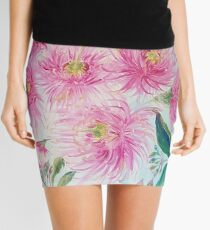Gum Blossoms (ii) by Liz H Lovell Mini Skirt