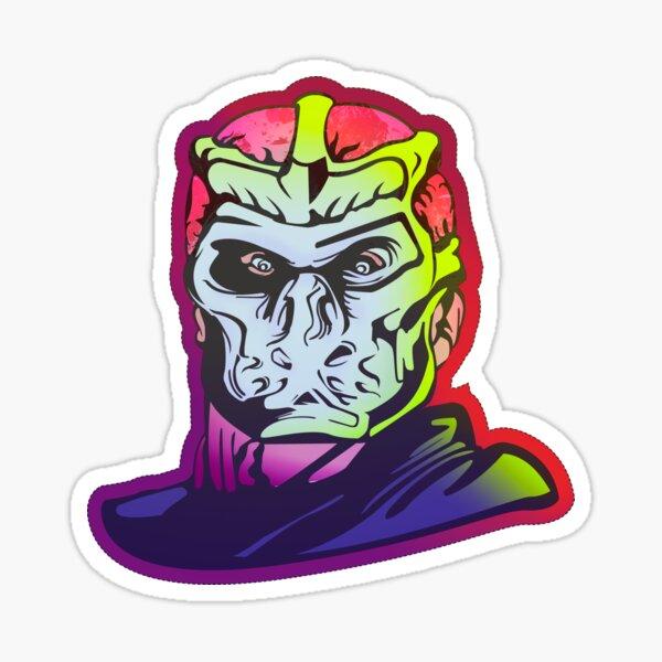 Uber Jason Sticker