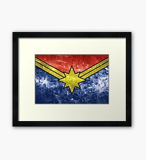 Punch Holes in the Sky Framed Print