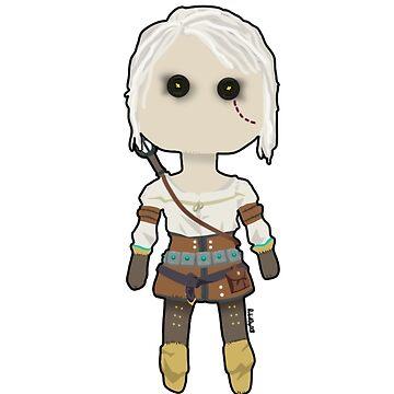 Ciri Rag Doll by RabidDog008
