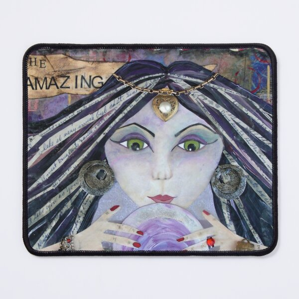 The Amazing - Mixed Media Mouse Pad