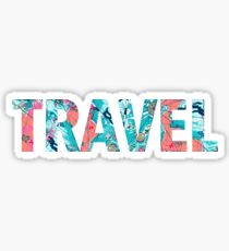 lilly pulitzer travel Sticker