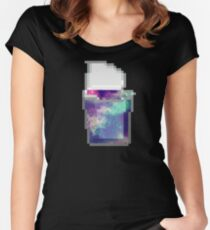 Galaxy Snack Pack - Space in a Cup 1 Women's Fitted Scoop T-Shirt