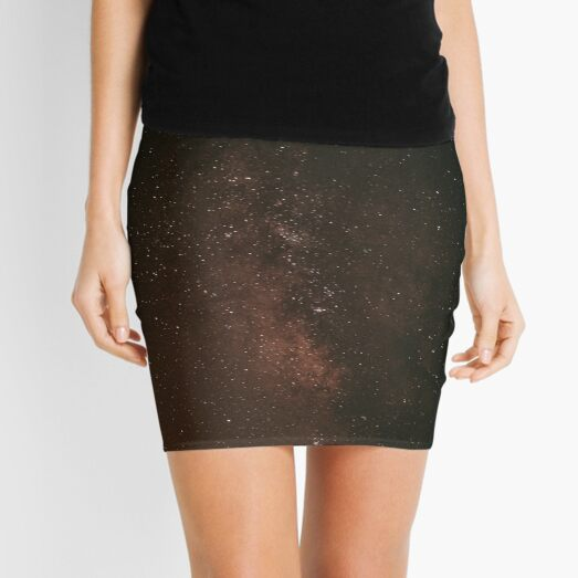Abstract Backdrop of Starry Sky at Dusk Mini Skirt