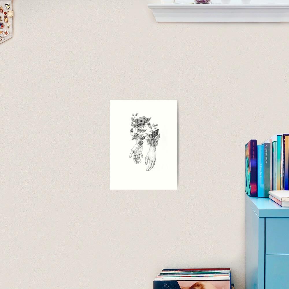 Witch's Herbs  Art Print
