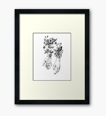 Witch's Herbs  Framed Print