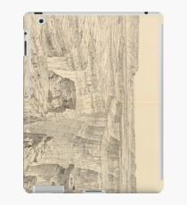 Vintage Pictorial Map of The Grand Canyon (1895)  iPad Case/Skin
