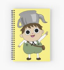 Over the Garden Wall Greg Spiral Notebook
