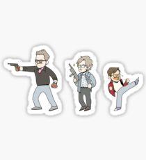 Tiny CHM - The Interceptors Sticker