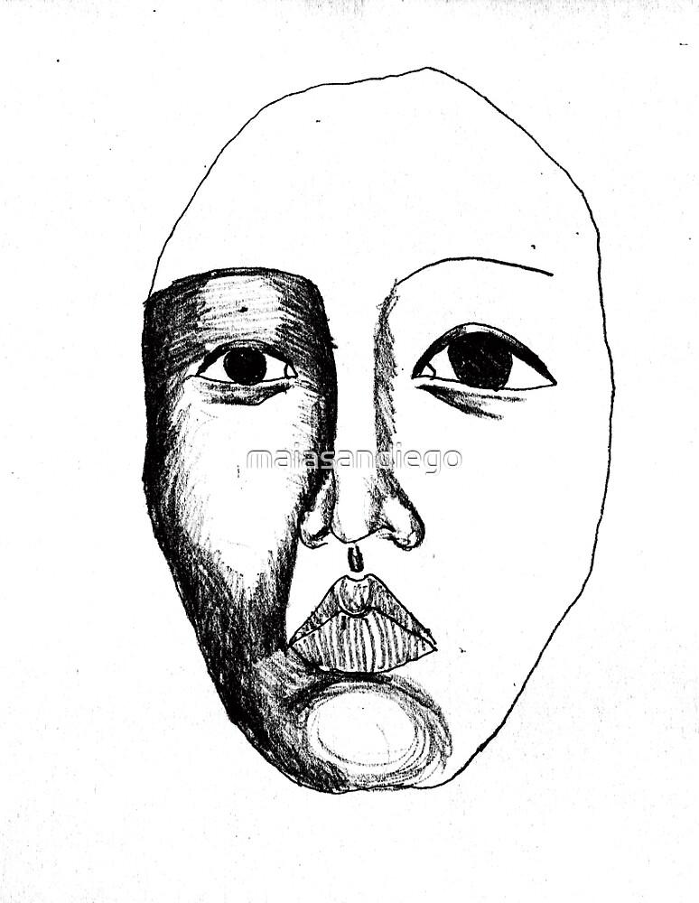 Portrait I by maiasandiego