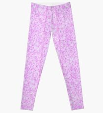 COLOR TO SCALE - PINK MAROON - SMALL FORMAT Leggings