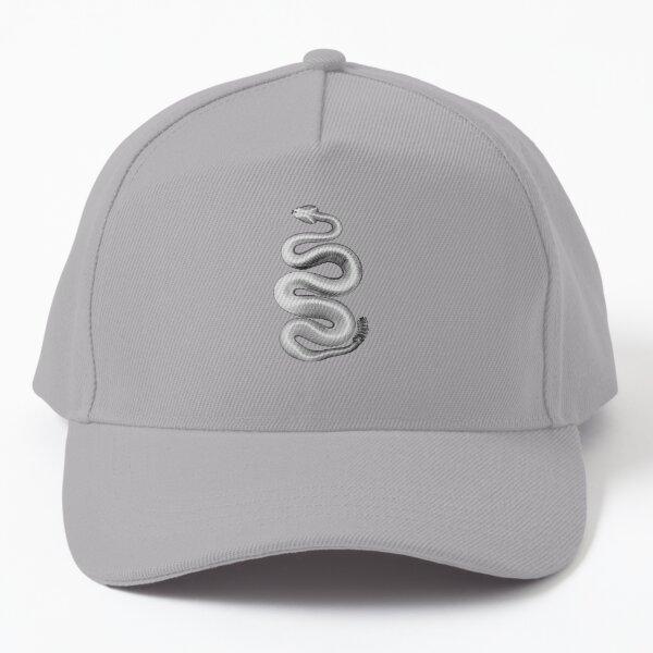Southern Pacific Rattlesnake, X-Ray, White Baseball Cap