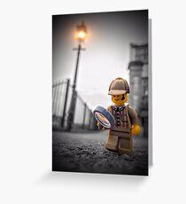 Lego Sherlock Greeting Card