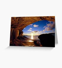 Wave Rock Greeting Card