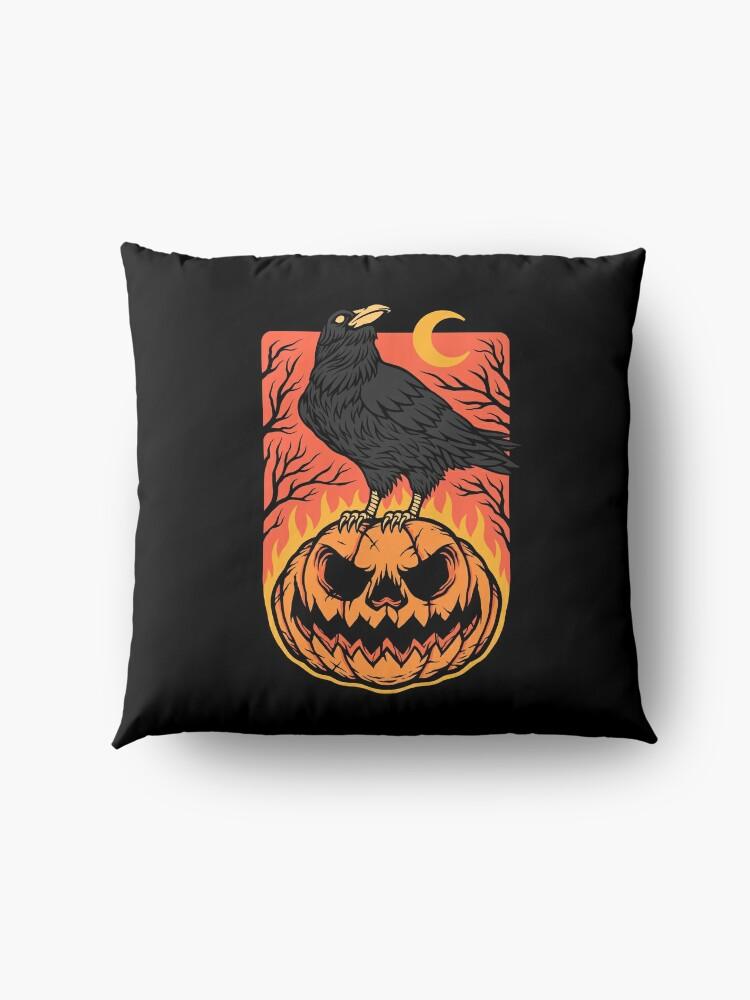 Alternate view of Halloween Night Floor Pillow