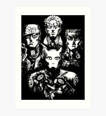 jojo's bohemian rhapsody Art Print