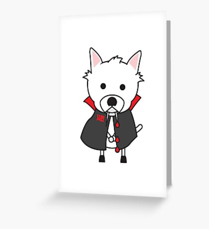 Wes Greeting Card