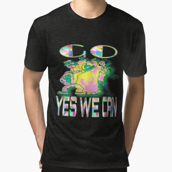 GO VEGAINS YES WE CAN Tri-blend T-Shirt