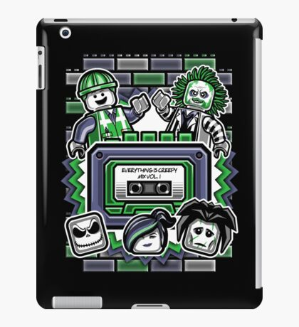 Everything is Creepy Mix Vol. 1 iPad Case/Skin