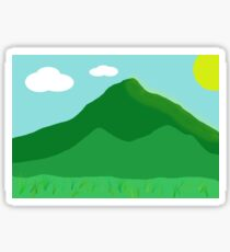 Day time scenery Sticker