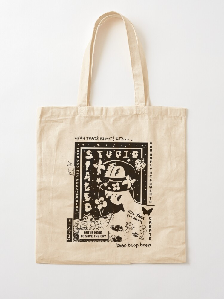 Alternate view of ART IS HERE TO SAVE THE DAY TOTE  Tote Bag
