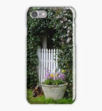 Rosalee Cottage Garden iPhone Case/Skin