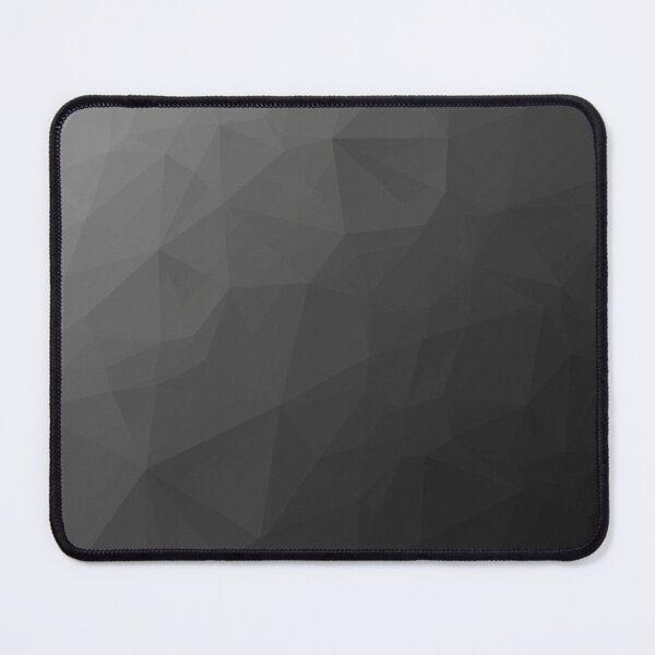 Gray Low Poly Mouse Pad