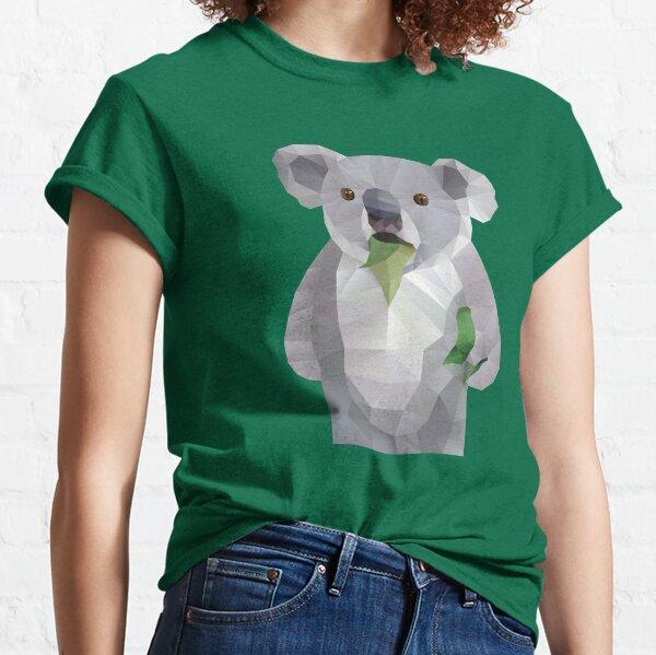 Koala con Koalafication Polygon Art Camiseta clásica