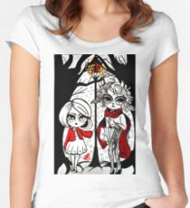 Spare Oom Women's Fitted Scoop T-Shirt
