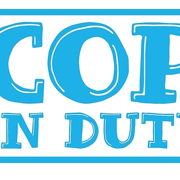 COP on duty by jazzydevil