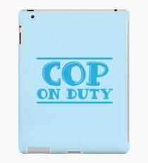 COP on duty iPad Case/Skin