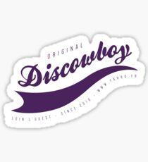 DISCOWBOY STICKER - P Sticker
