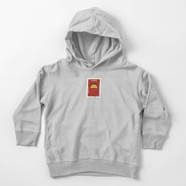 Taco Stamp Toddler Pullover Hoodie