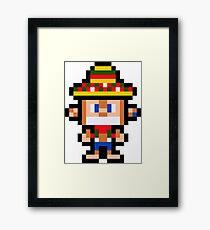 Pixel Amigo Framed Print